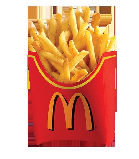 麦当劳菜单:薯条(大)
