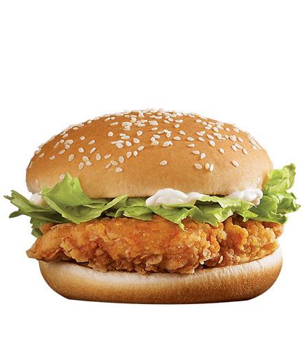 经典麦辣鸡腿汉堡
