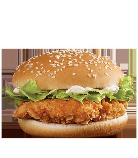 麦辣鸡腿汉堡