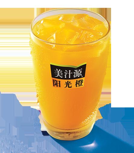 美汁源阳光橙